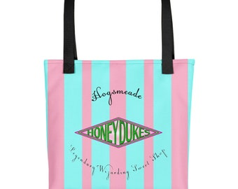 Candy Shop Wide Stripe Tote