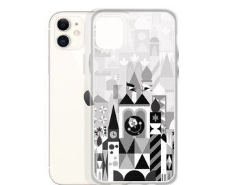 Black and White Clockface iPhone Case