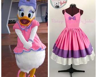 Daisy Duck Sweetheart Disney Bound dress