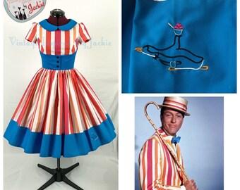 Peter Pan Collar Bert disney bound Inspired Dress