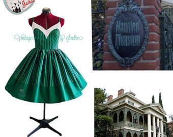 Haunted Mansion Sweetheart Neckline Bound dress