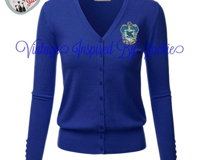 Featured listing image: Ravenclaw Cardigan pre-order