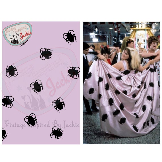 Tracy Turnblad Do The Roach Print Full Skirt Etsy