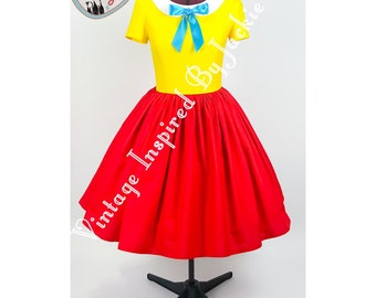 Tweedle Twins disney Inspired Dress Sample size 14 only