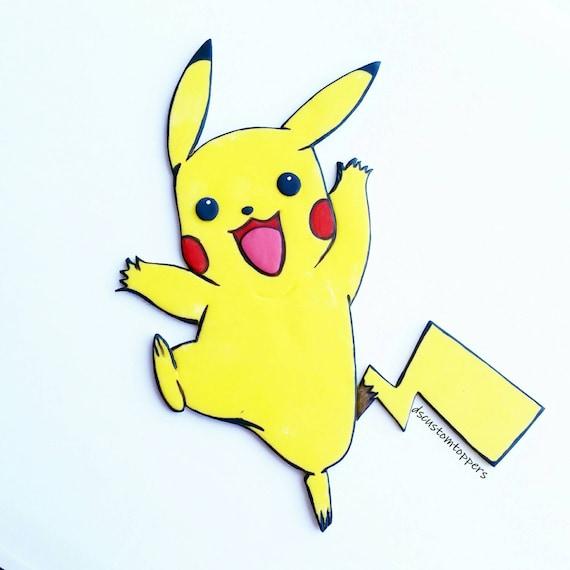 Pikachu Kuchen Deckel Pokemon Kuchen Deckel Etsy