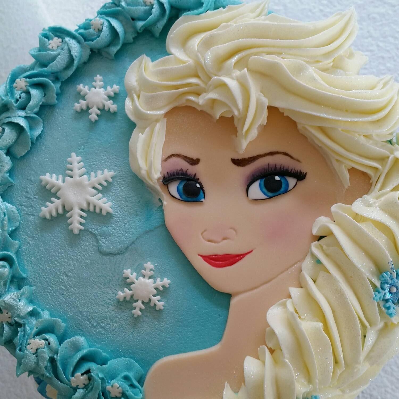 Frozen Fondant Edible Handcut Elsa Etsy