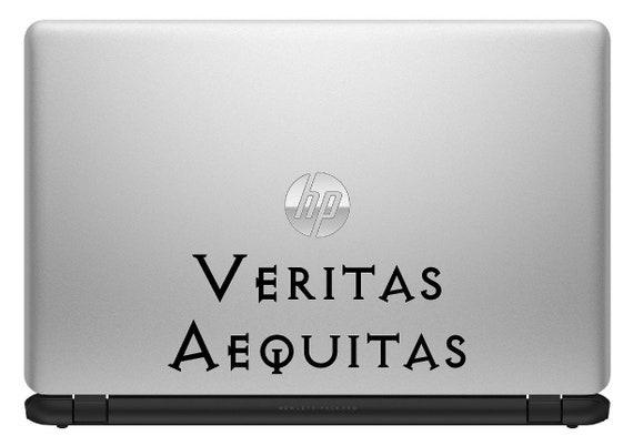 Vinyl Decal Sticker BOONDOCK SAINTS VERITAS AEQUITAS Truth /& Justice