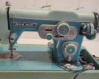 Vintage Sew-Mor Electric Sewing Machine - Pick Up Only!