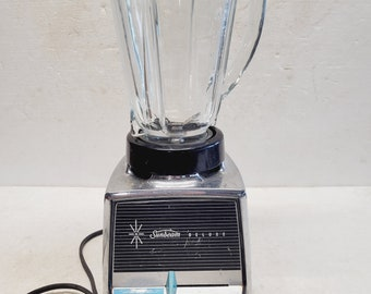Vintage 1950s Sunbeam 3-Speed Blender Deluxe 300 A