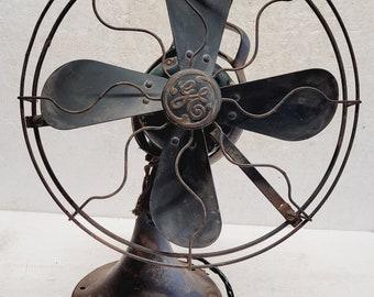 """Antique GE 12 """" Fan - model 30318"""