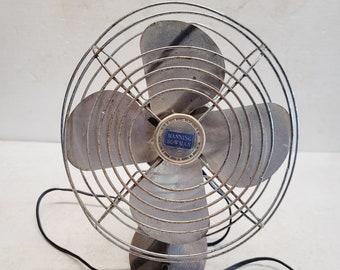 Vintage Manning Bowman 8 inch Fan