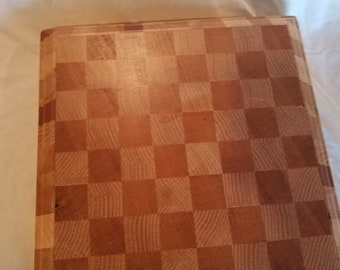 Wood Portable Game Board - or Small cutting Board - Made in Vermont