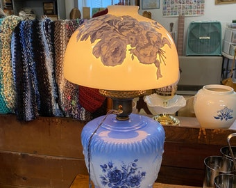 Vintage Stylized Hurricane Lamp