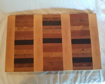 End Grain Cutting Board - Hand Made in Vermont