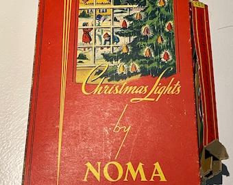 VINTAGE NORMA CHRISTMAS lights