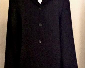 Vintage Amanda Smith Woman's Navy Wool Suit Skirt