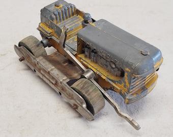 "Vintage 1950's 8"" Hubley Diesel Tractor Bulldozer"