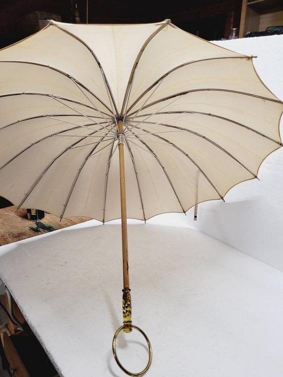 Antique Silk Umbrella Parasol