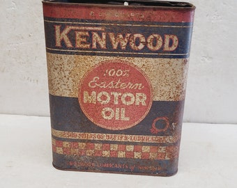 Vintage 2 gallon Kenwood Oil Can