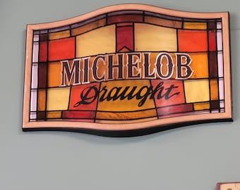 Vintage Michelob Draught Beer Sign
