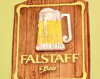 Vintage Falstaff Beer Sign