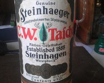 Vintage Westphalin Steinhaeger Gin Crock Bottle