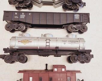 Vintage Lionel Freight Car Set - Scale 0 - 4 Pcs