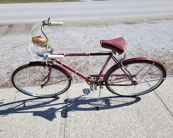 """Vintage AMF Roadmaster """"Nimble"""" Boys 3 Speed Bicycle - PICK UP Only!"""