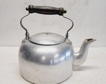 Vintage Mirro Aluminum Tea Pot