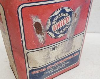 Vintage 2 gallon Unico Oil Can