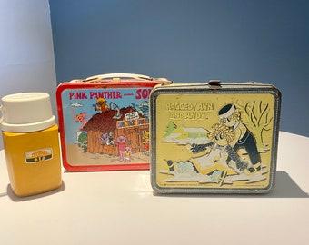 Vintage Lunch box Set