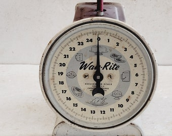 Vintage Way-Rite Household Kitchen Scale