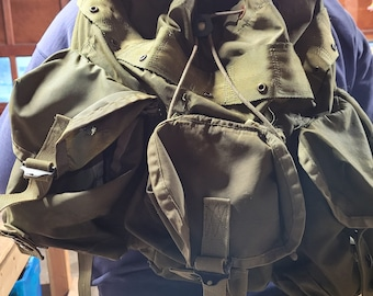 Military-like Camouflage Hikers Backpack - New Condition