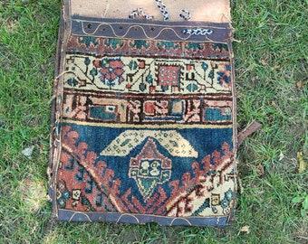 Antique Persian Camel Double Saddle Bag Pannier 1930's