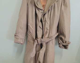 Old US Army Coat with Removable Liner
