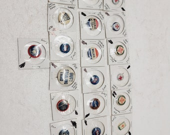Antique Collection of Small Pins in Collector Packets