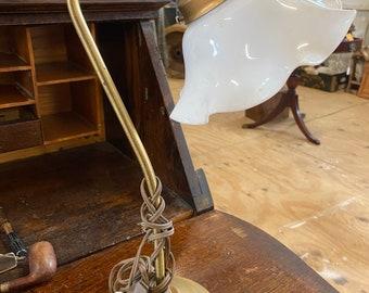 Vintage Brass Electric Lamp