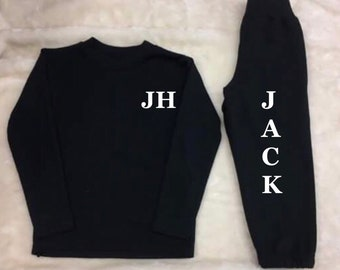 PRINTED tracksuit any initials