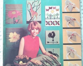 1967 McCalls Needlepoint with Step by Step Instructions for Beginners