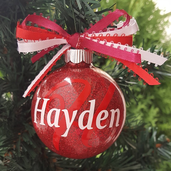 Christmas Ornaments Personalized Christmas Decoration Coworker Christmas Employee Gifts Ornament With Name Holiday Ornaments