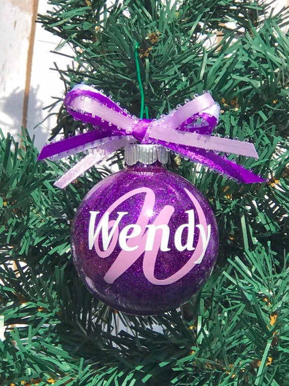 Personalized Christmas Balls.Personalized Christmas Ornaments Glass Ornaments Monogrammed Ornament Custom Ornament Vinyl Ornament Tree Ornament Balls Ornaments