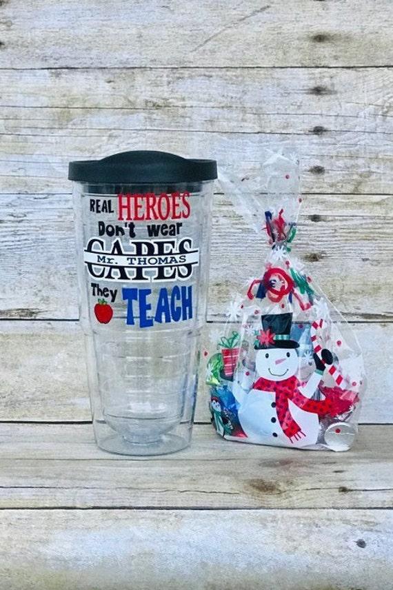 Male Teacher Christmas Gifts Teacher Gift Male Teacher Gift | Etsy
