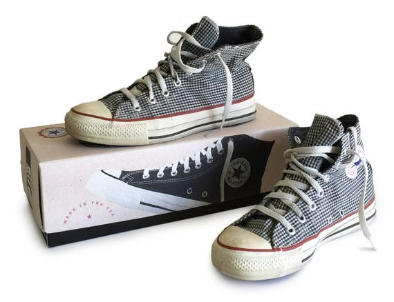 1970s Converse High Tops Chuck Taylor All Star Mad