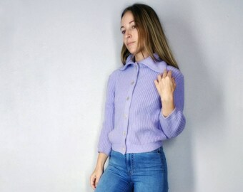 7a0b2b5c08 Vintage lavender cardigan