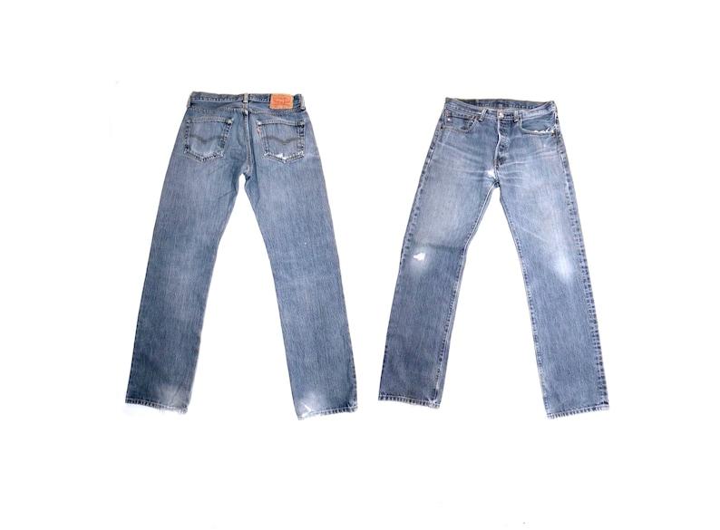 a2a0869b Vintage Levi's 501 Jeans / High Waist Original Distressed   Etsy