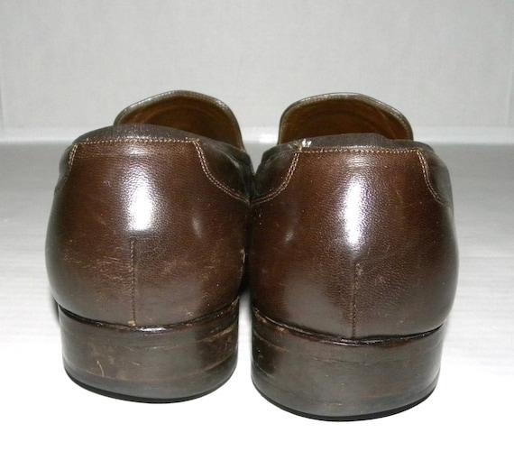 pompon des cuir chaussures Florsheim hommes 11 Brown D chaussures robe Imperial Vintage taille mocassins hommes en wEAICqg