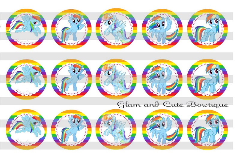 ImagesEtsy Little Rainbow Instant Dash Download Bottle Cap My Pony 8n0XPwOk