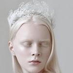 Dragonfly wings, Dragonflies, Wedding crown, Wedding headpiece, Party crown, Party headpiece, Festival crown, Festival headpiece headdress