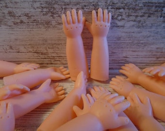 Vintage Doll//Baby Hands and Arms For making or Repairing Dolls NEW