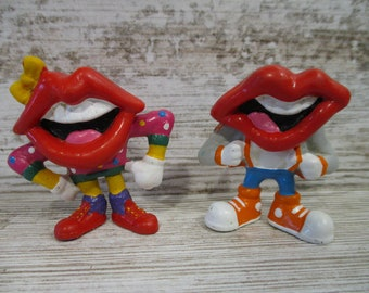 Toy from General Mills Collectible Toy for Kids General Mills Tang Prize Made by Applause The Lips Tang Vintage Fun Toy for Kids